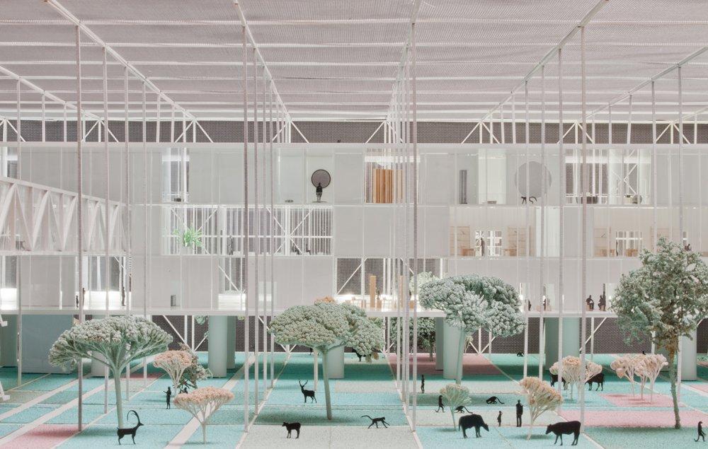 2A+P/A, Andrea Branzi, Bauhaus Museum, Dessau