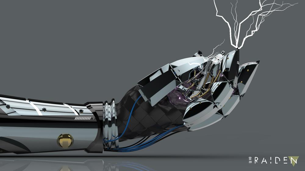 3D Render of ExoArm