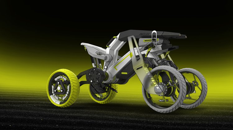 An adventure sports vehicle for paraplegics