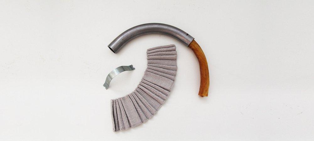 Metal x Knit development
