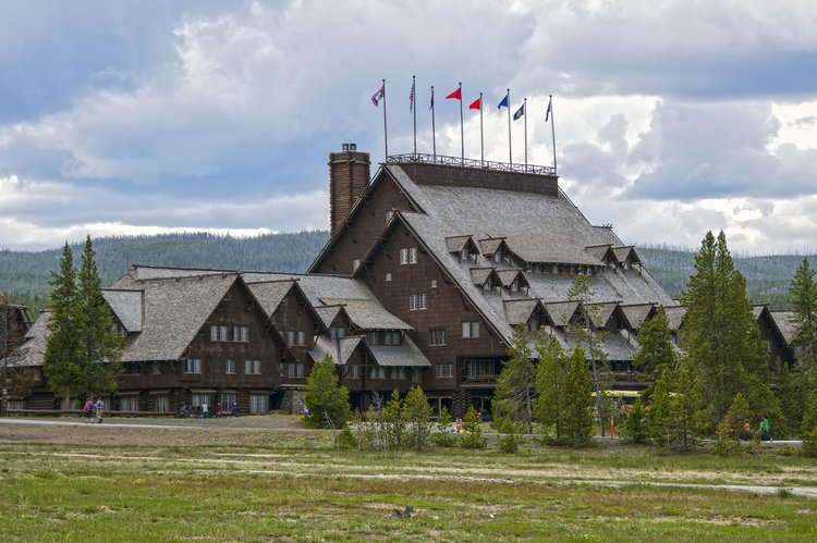 The need to balance preservation with human access has led to some unusual architectural hybrids, including the Old Faithfull Inn at Yellowstone, perhaps the largest woodcutter's cabin in existence.