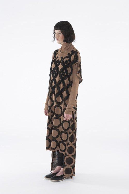 Crochet Jacquard Dress