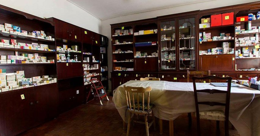 Solidarity Pharmacy of Vyronas district in Athens