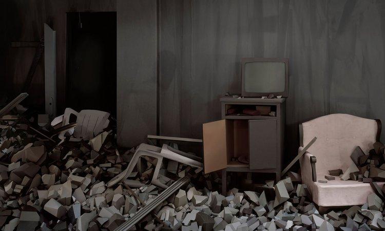 Thomas Demand,  Ruine, 2017