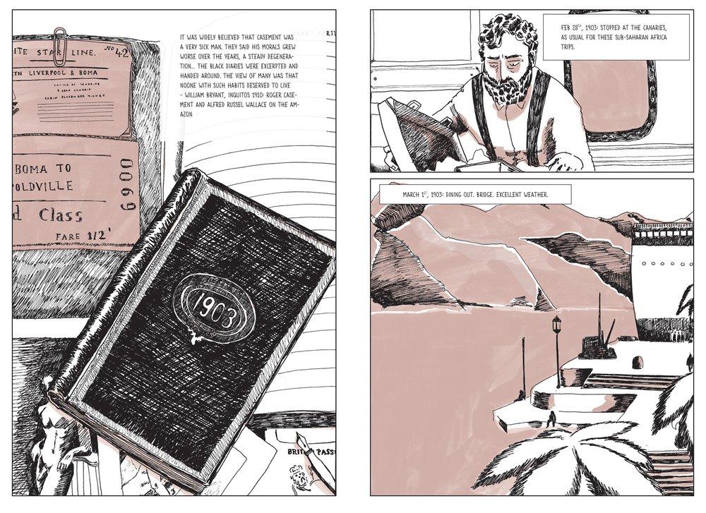 Roger Casement: A Partial Life, pg 30-31