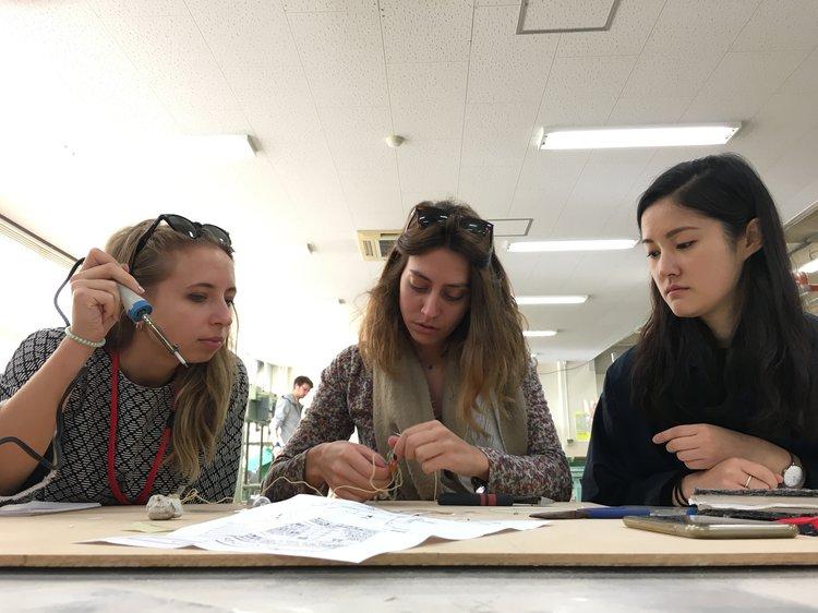 Building radios at Kyoto Design Lab