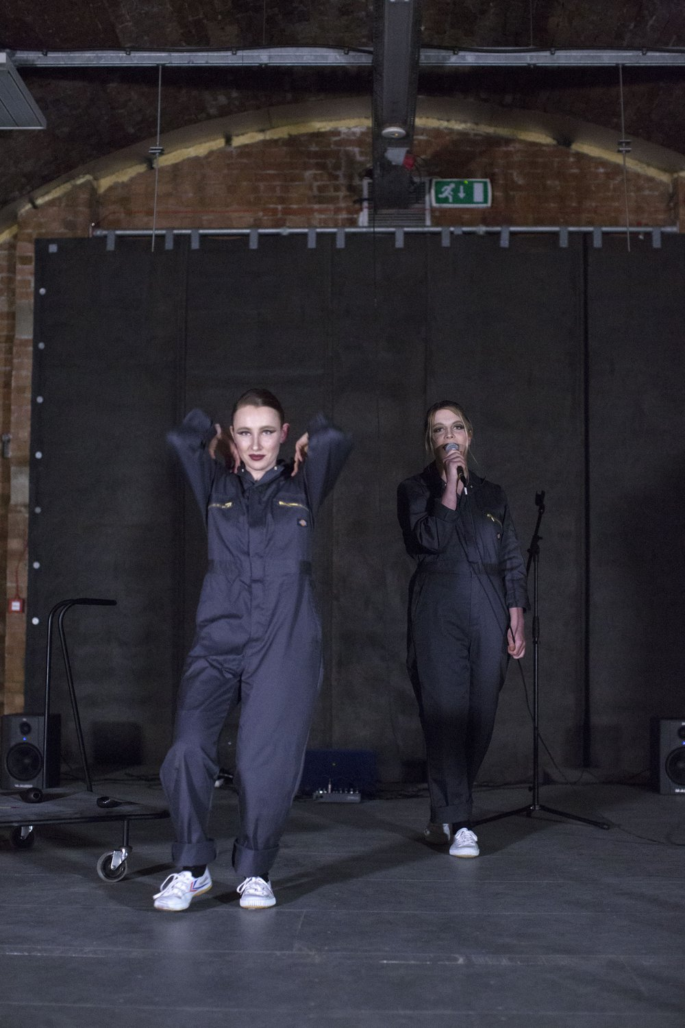Performance by Paloma Proudfoot and Aniela Piasecka