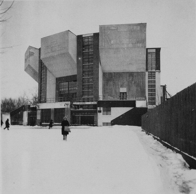 Rusakov Workers' Club, Moscow, Konstantin Melnikov 1927-28