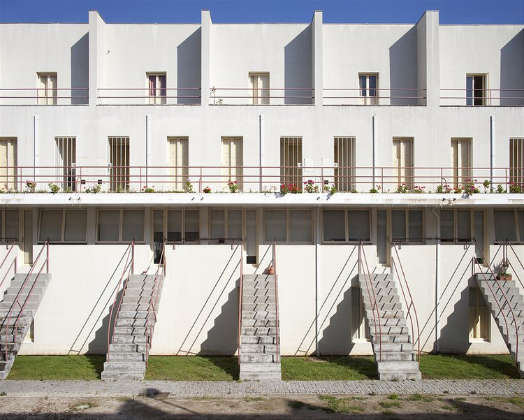 The SAAL programme in Portugal allowed inner-city communities to collectivise and build new urban housing. Communities were provided with a 'technical brigade' of architects, including a young Álvaro Siza Vieira, to help them design and build the homes.