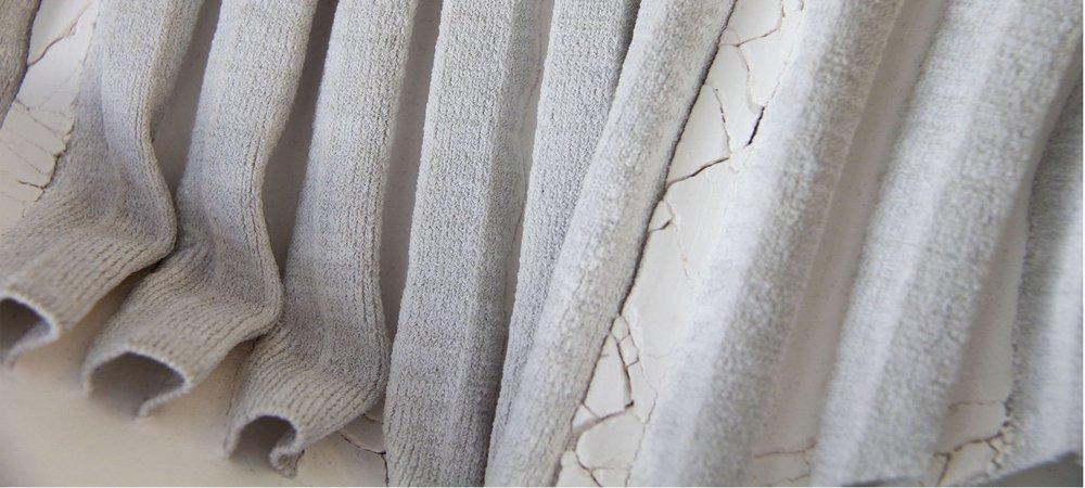 Plaster x Knit development