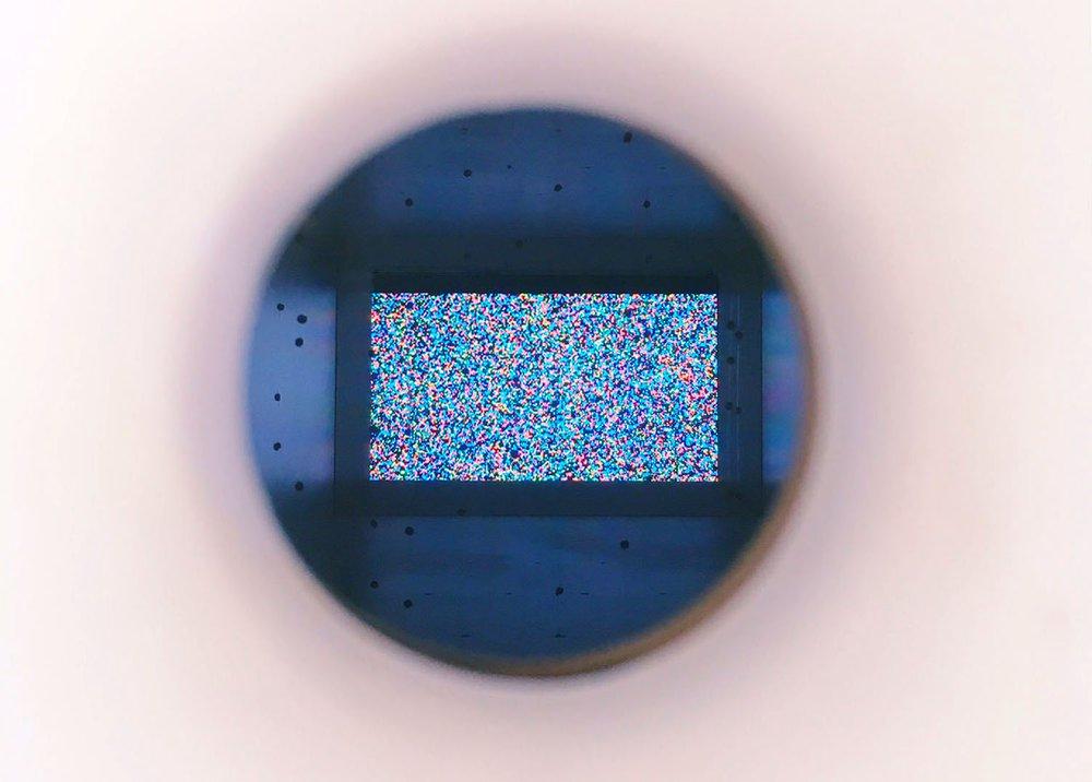 Visual Noise - Simulation 2 (interior view)