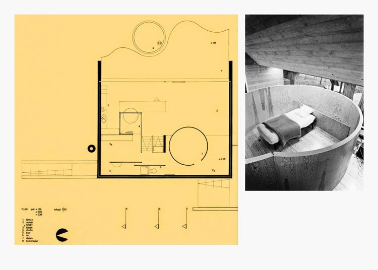 Domesticity - The Home as a Space of Cultural Invention, Liberated from External Pressures and Desires. Project house by Lampens