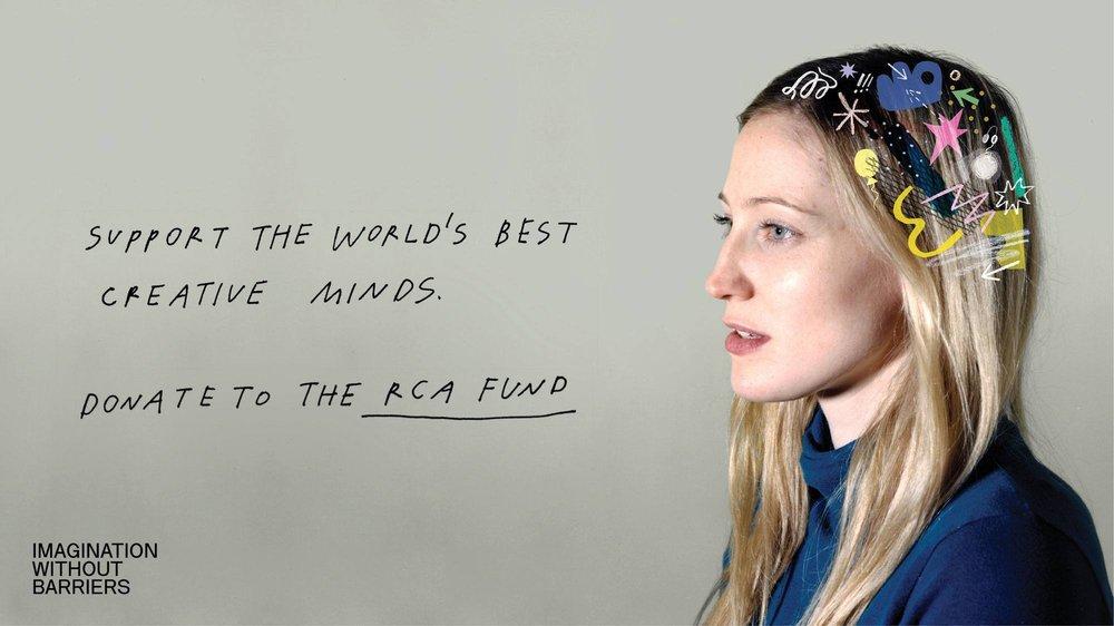RCA Fund 2015/16 Campaign Identity