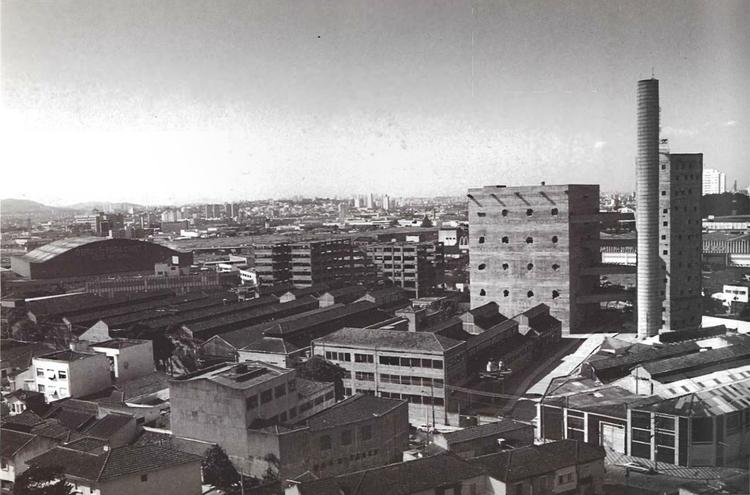 SESC Pompeia, São Paulo, Lina Bo Bardi 1977-86