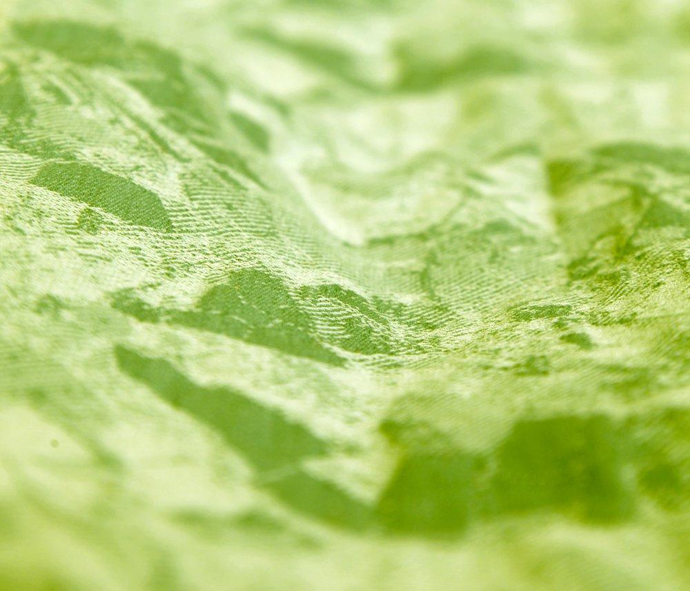 Field Pattern Scarf, Green