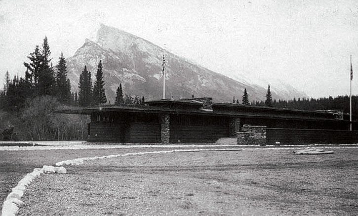 Architecture and National Parks can have a problematic relationship. Frank Lloyd Wright's Banff National Park pavilion was seen to put national policy over local need, and was demolished. Now part of the Park's heritage, there are proposals to rebuild it.