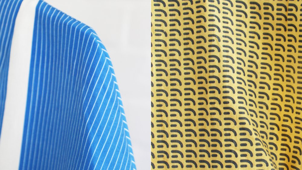Textiles by Lucy Rainbow, winner of The Robin and Lucienne Day Prize 2015