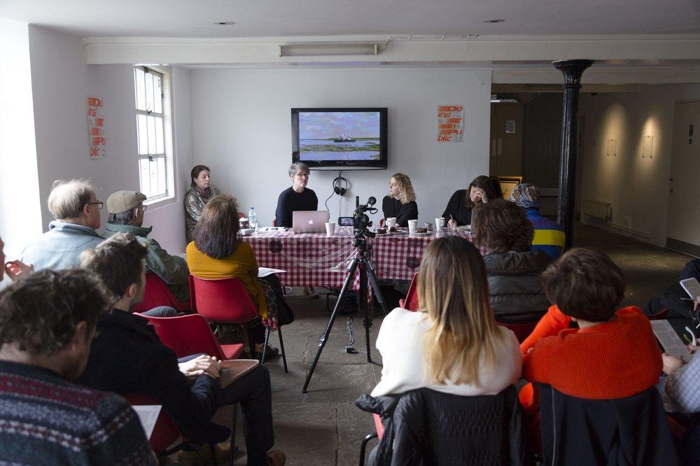 Panel Discussion w/ Helen Nisbet, Jes Fernie and Liza Fior