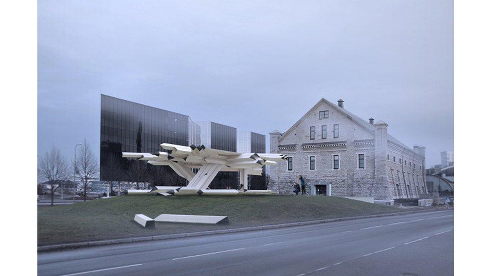Gilles Retsin Architecture: Discrete Elements / Tallinn Architecture Biennale