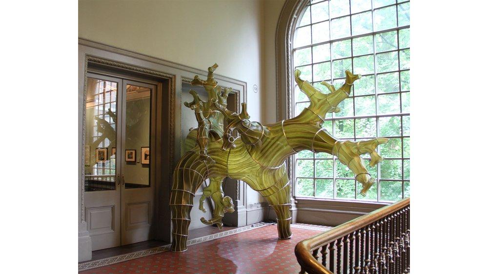 Oki Naganode, Seaweed structure, Julia Lohmann V&A London
