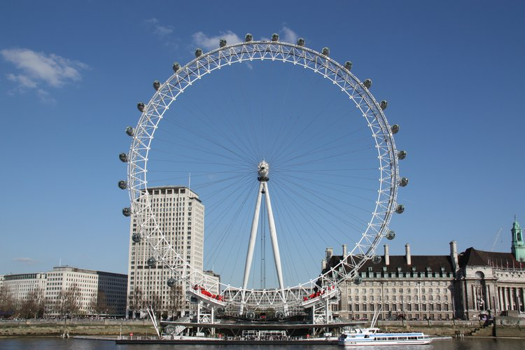 The London Eye (2000) spectacularly out-performed other government-backed Millennium projects to become a global symbol of London and the most popular paid tourist attraction in the UK.