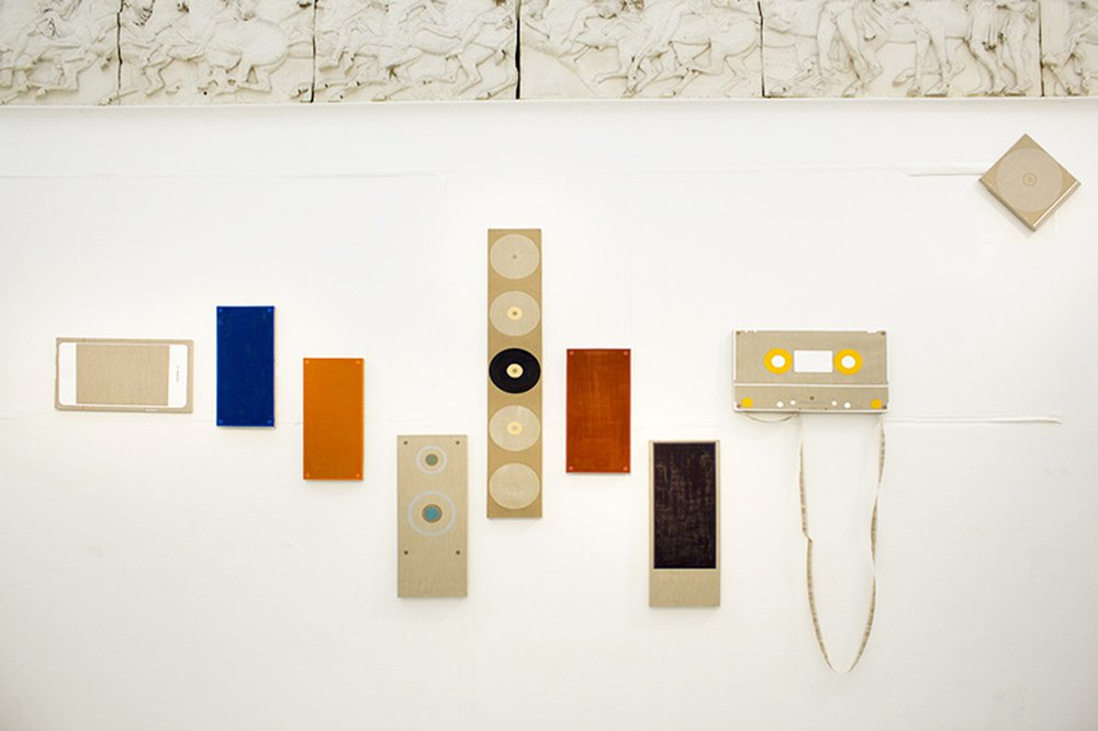 Audio Room (Installation View at the Hockney Gallery)