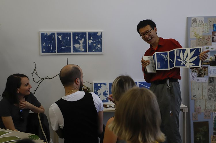 Xinhao Cheng, Cyanotype Workshop