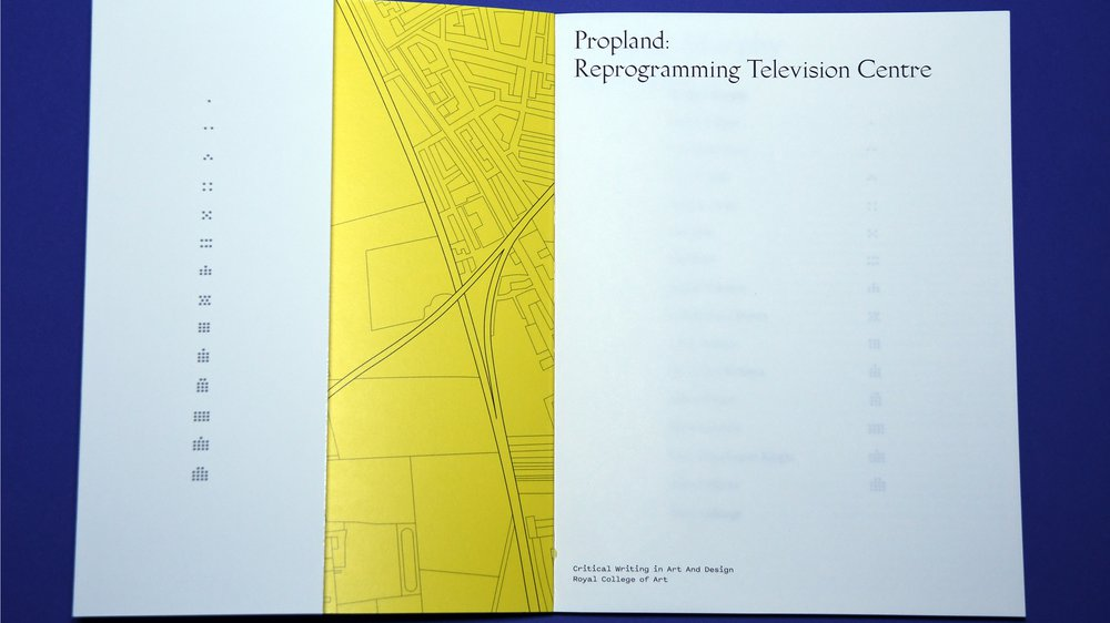 Propland: Reprogramming Television Centre