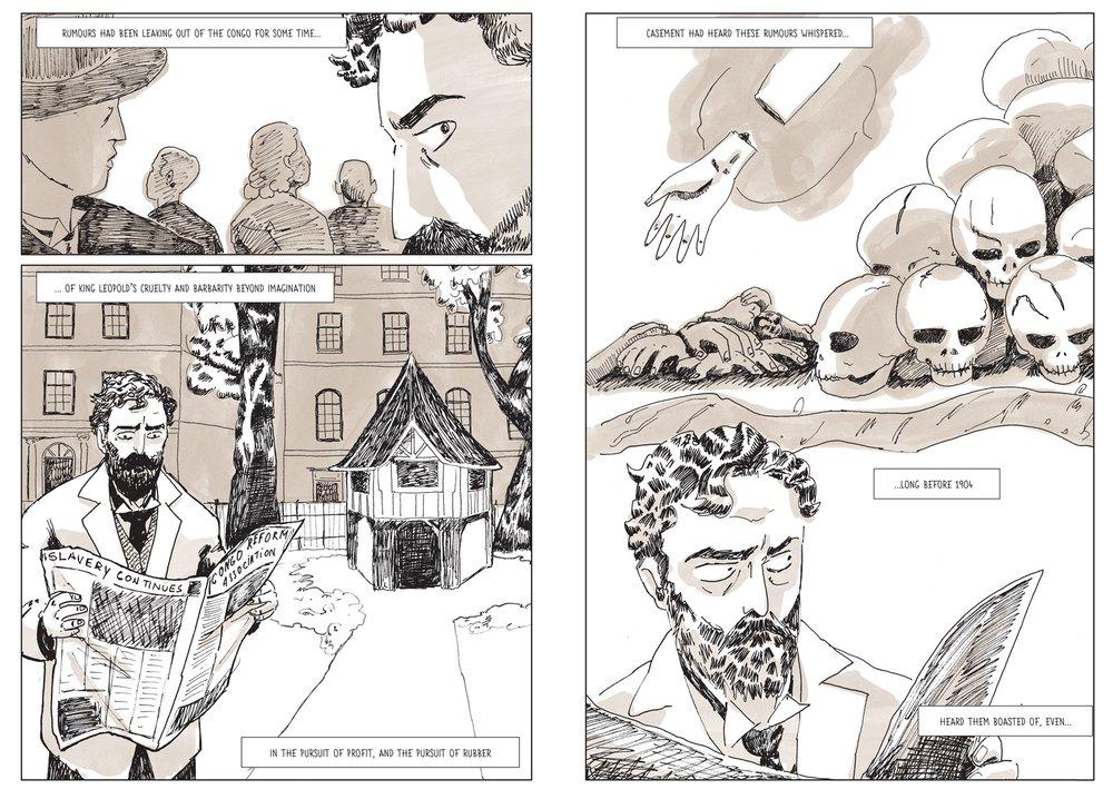 Roger Casement: A Partial Life, pg 8-9