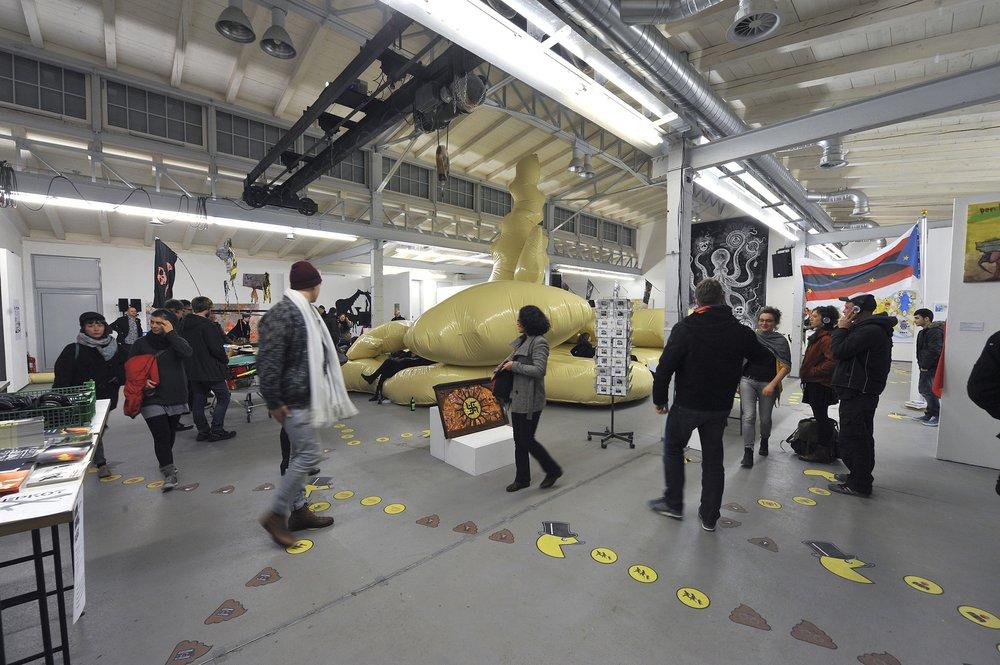 Boom Bubble & Blast exhibition, Motorenhalle, Dresden, co-curator Cecilia Wee