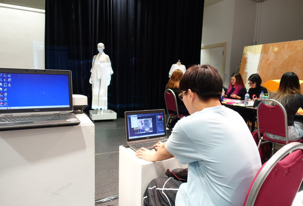 Creative Practice for Fashion workshop