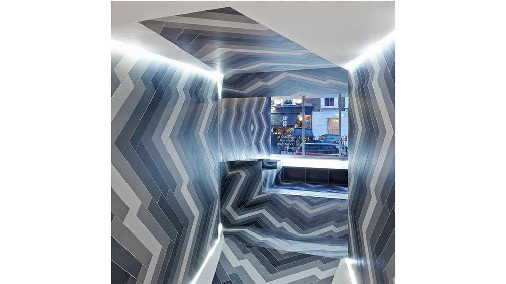 Pulsate CDS tile shop, Lily Jencks and Nathanael Dorent