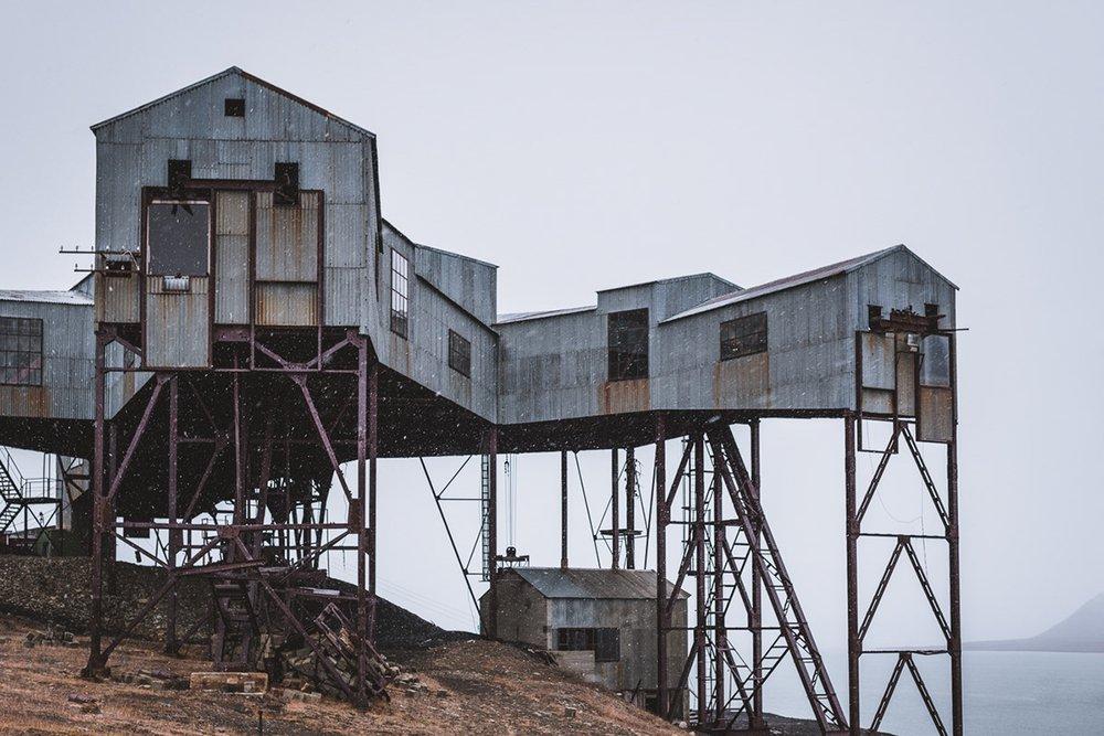Taubanesentrale: Longyeabyen Coal Mining Cableway