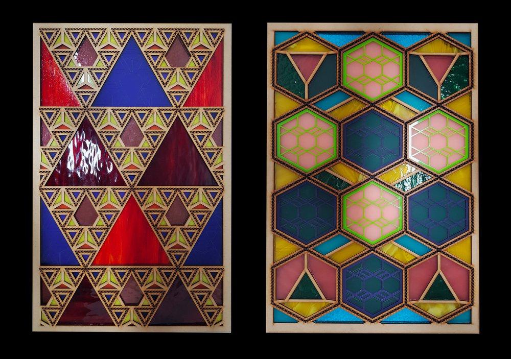 Sacred geometry - 2 Frames