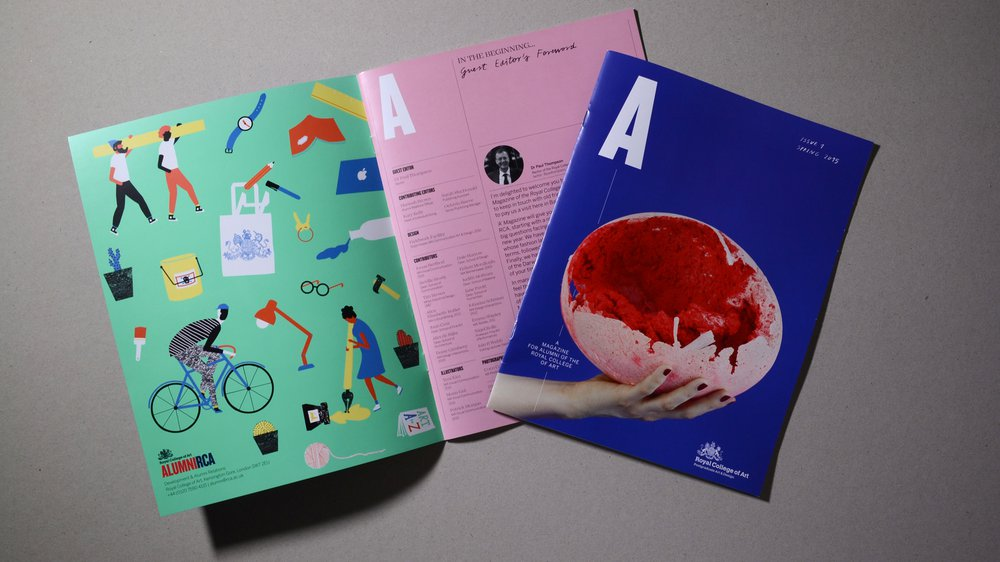'A' Magazine, Issue 1