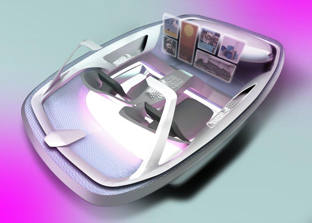 HAIE: a holistic automotive interior user experience