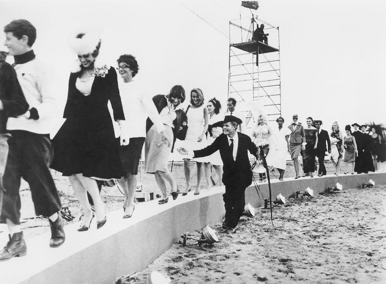 Federico Fellini, 81⁄2 (still frame from the movie), 1963