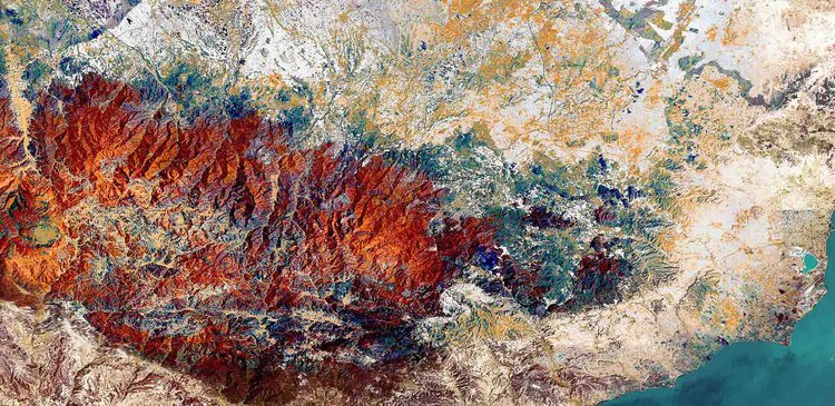 Cyprus, multispectral image analysis