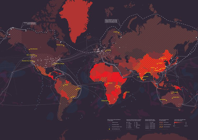 Data Centres Global Overview. Image: OMA