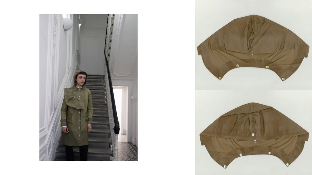 Waxed Cotton Raincoat
