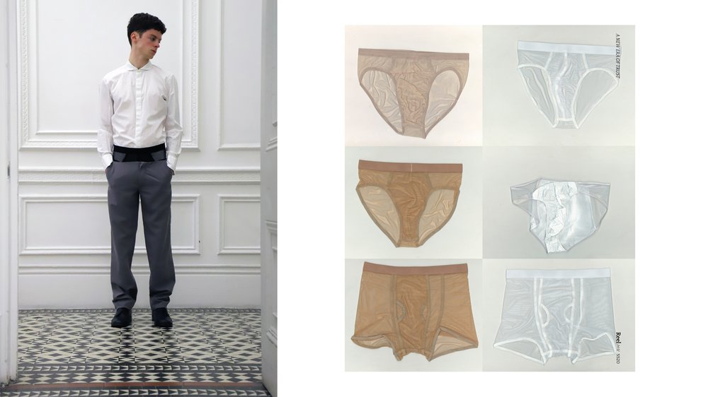 Underwear, Low Waistband Trouser