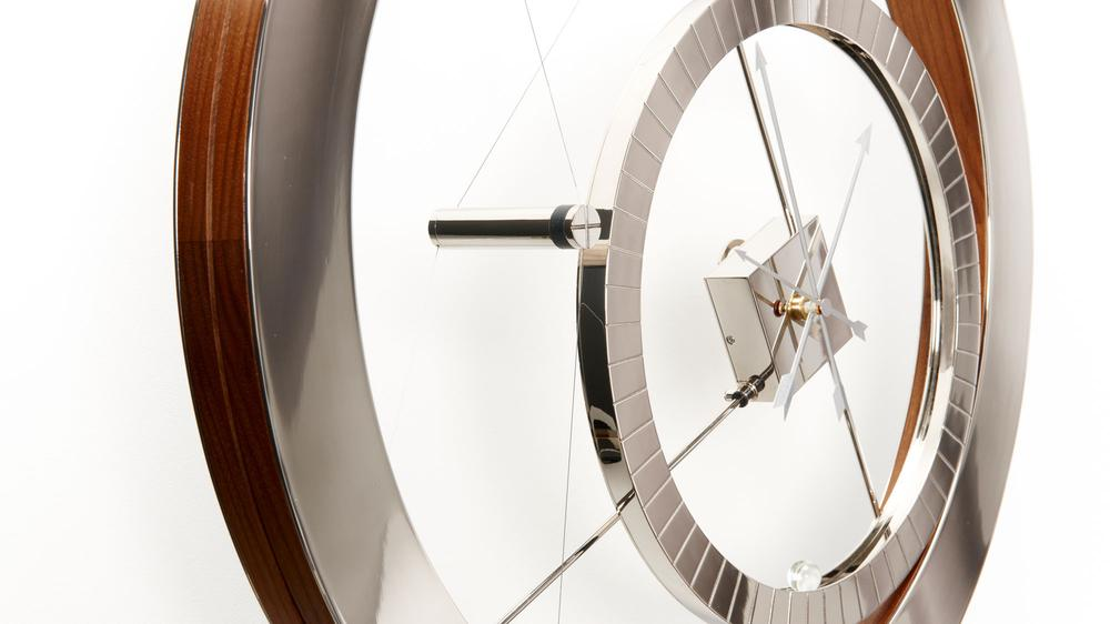 'Clock for an Acrobat' by Daniel Weil (Image: Pentagram)
