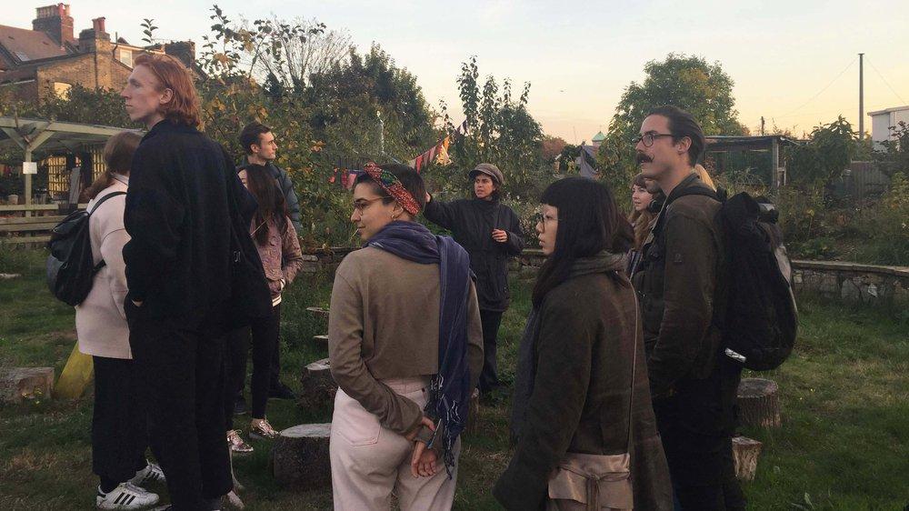 AcrossRCA 2016: Glengall Wharf Garden in Burgess Park