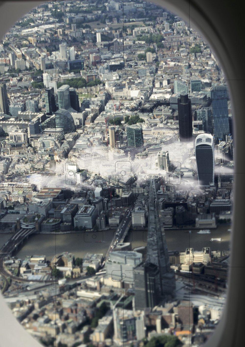 London Heathrow Airport approach