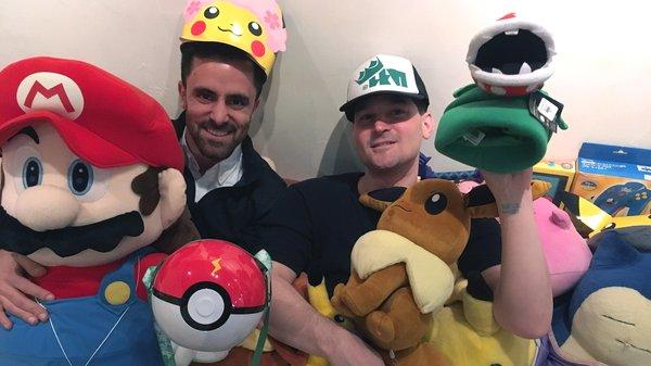 Amir and Jessie with some Pokémon