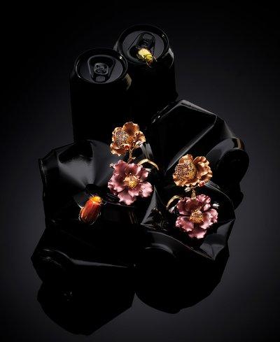 Jewellery made from recycled aluminium