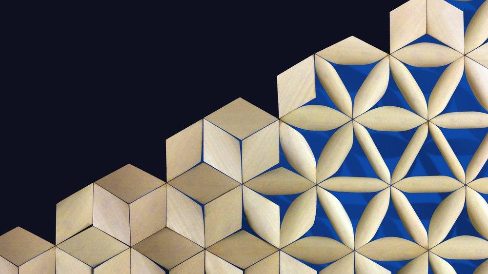 Water-reacting architectural skin