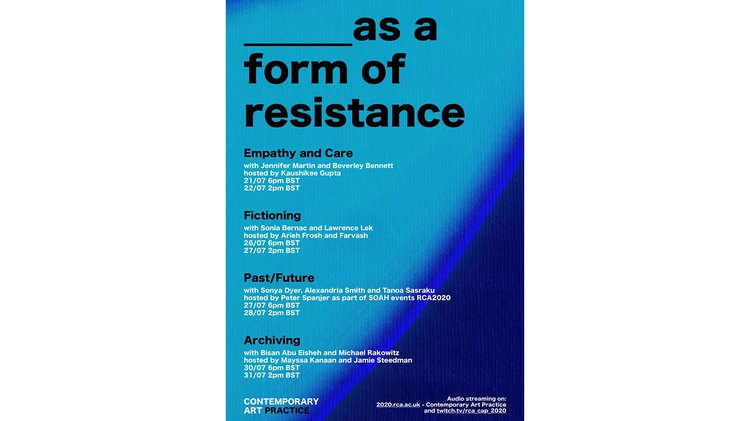 Archiving as a Form of Resistance
