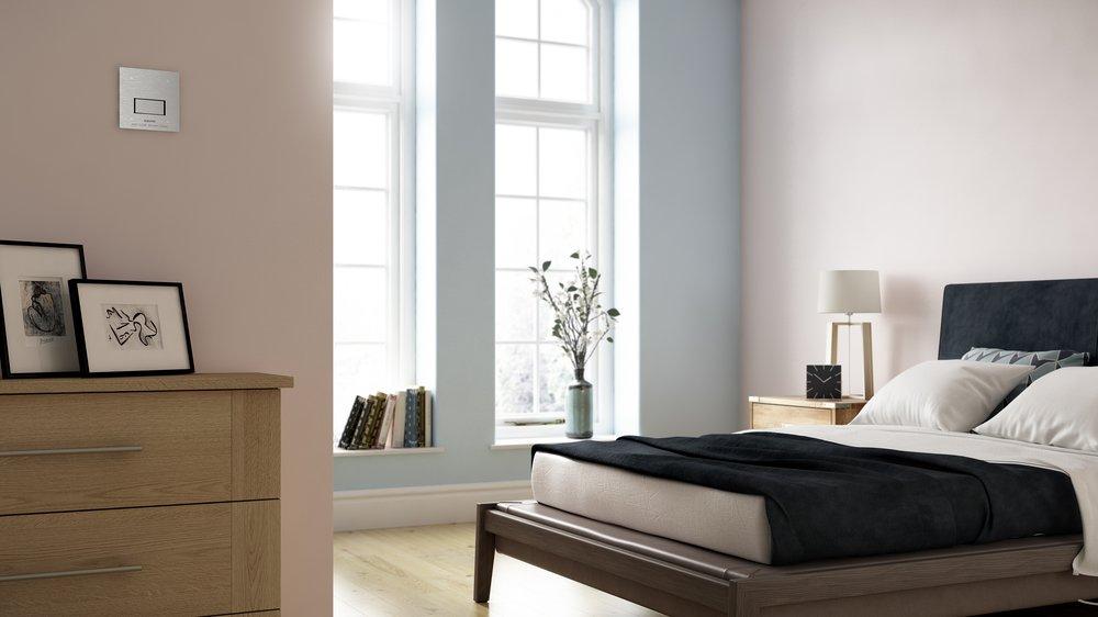 Automist Smartscan installed in Bedroom