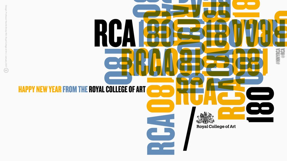 Happy 180th New Year from the Royal College of Art